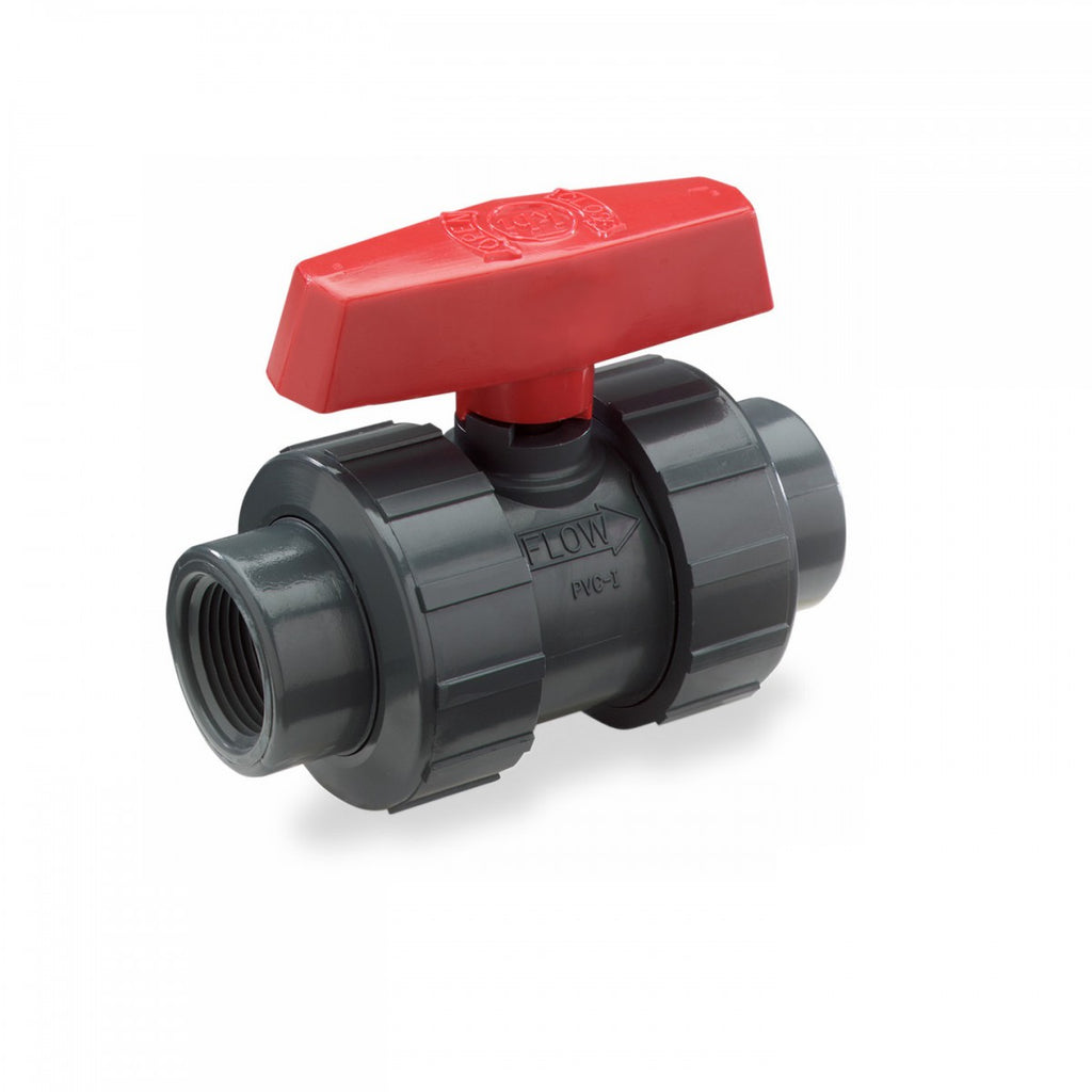 UPVC Double Union Valves