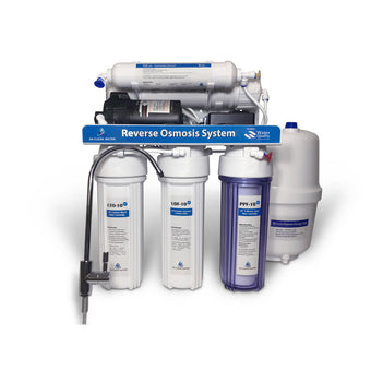 75 GPD Reverse Osmosis Water Filter System - With Booster Pump