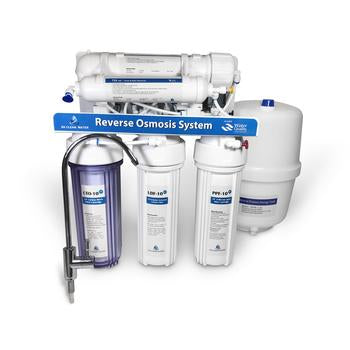 75 GPD Reverse Osmosis Water Filter System - Without Booster Pump