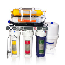 75 GPD Reverse Osmosis Water Filter System - With Booster Pump (7 Stage)