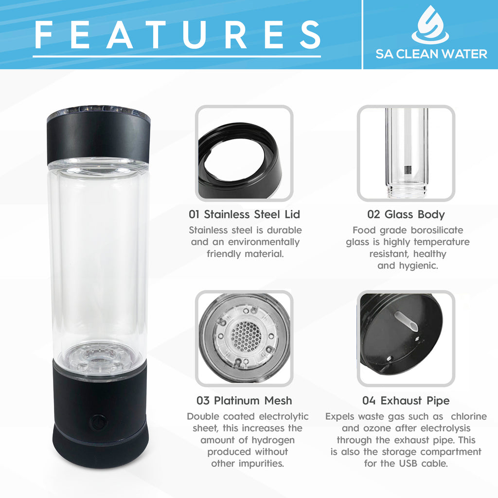 Hydrogen Water Maker Features