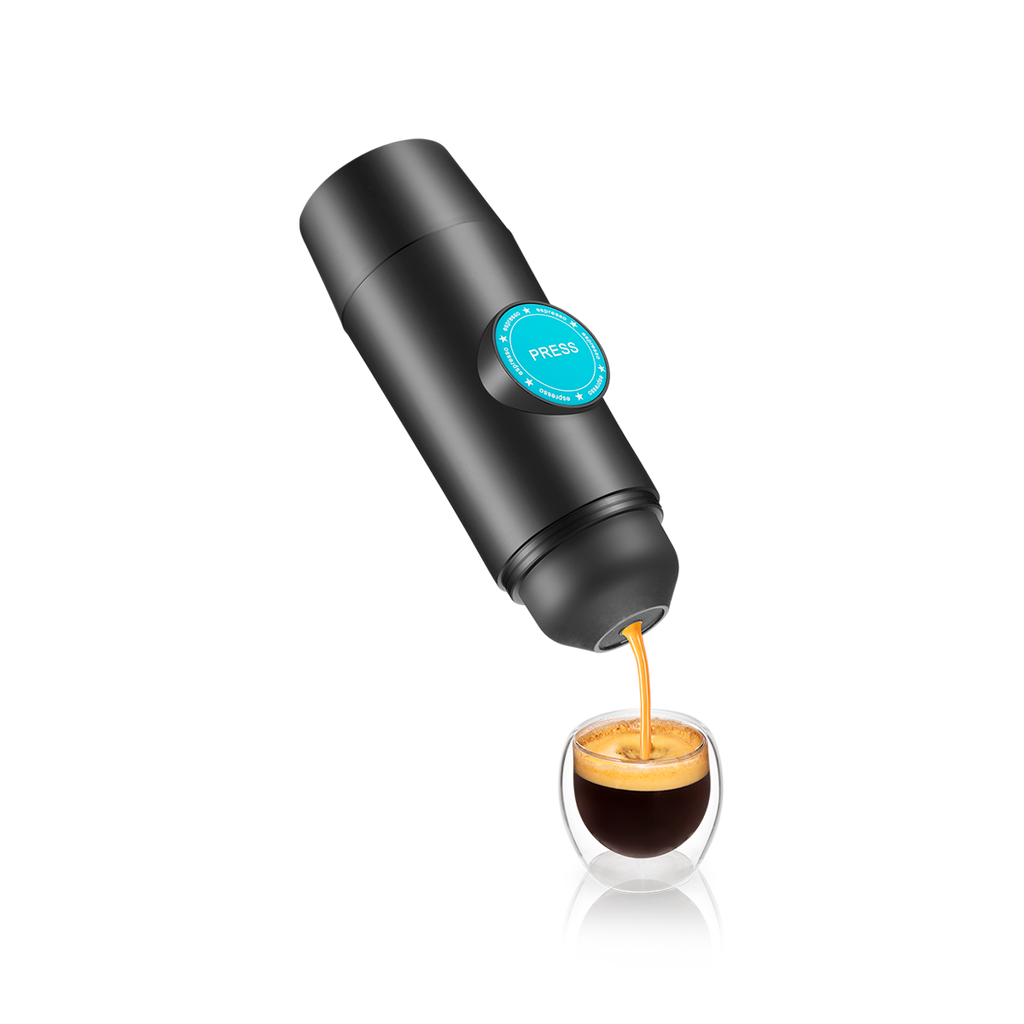 Pouring Kofi Portable Electronic Espresso Machine