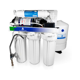 50 GPD Reverse Osmosis Water Filter System - With Booster Pump