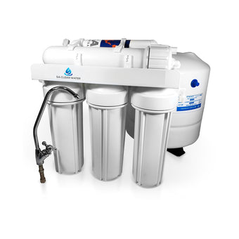 50 GPD Reverse Osmosis Water Filter System - Without Booster Pump