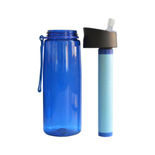 Survival Series Water Filter Bottle Complete Open
