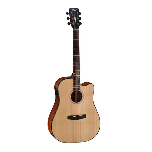 Cort MR E NS Electro Acoustic Deadnought Guitar - Natural
