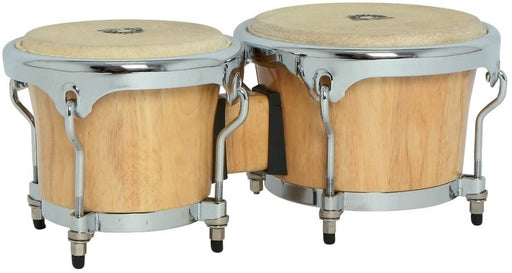 Club Salsa 7-Inch and 8.5-Inch Pro Bongo - Natural