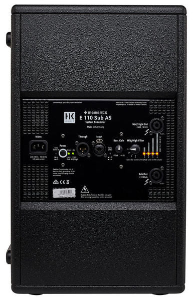 HK Audio Elements E110S Sub Woofer
