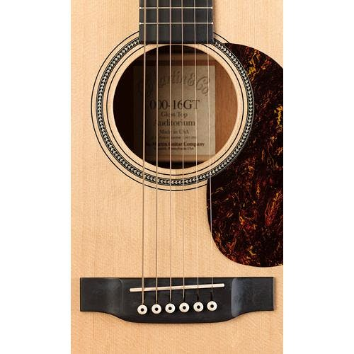 Martin 000 16GT Acoustic Folk Guitar -Natural