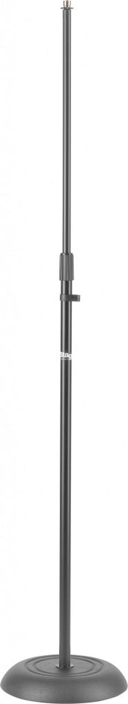 Stagg MIS-1120BK Solid Round Base Straight Microphone Stand