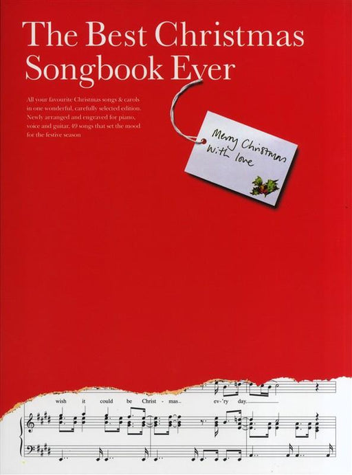The Best Christmas Songbook Ever: Piano, Vocal, Guitar (A4)