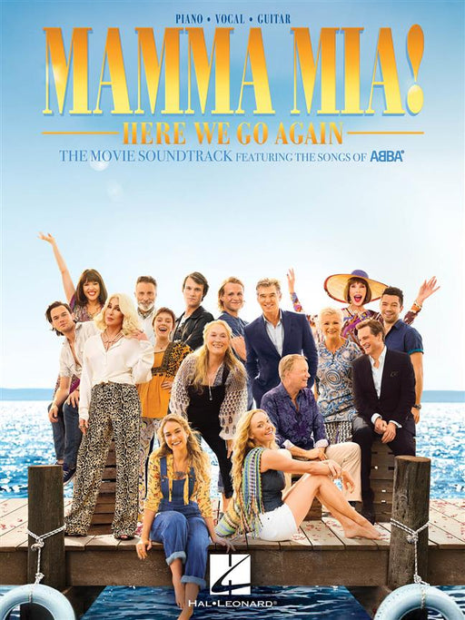ABBA: Mamma Mia! Here we go again: Piano, Vocal, Guitar