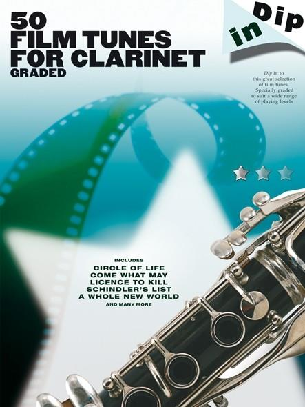 Dip In 50 Film Tunes for Clarinet