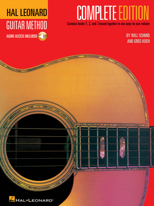 Hal Leonard Guitar Method Complete Edition + Audio
