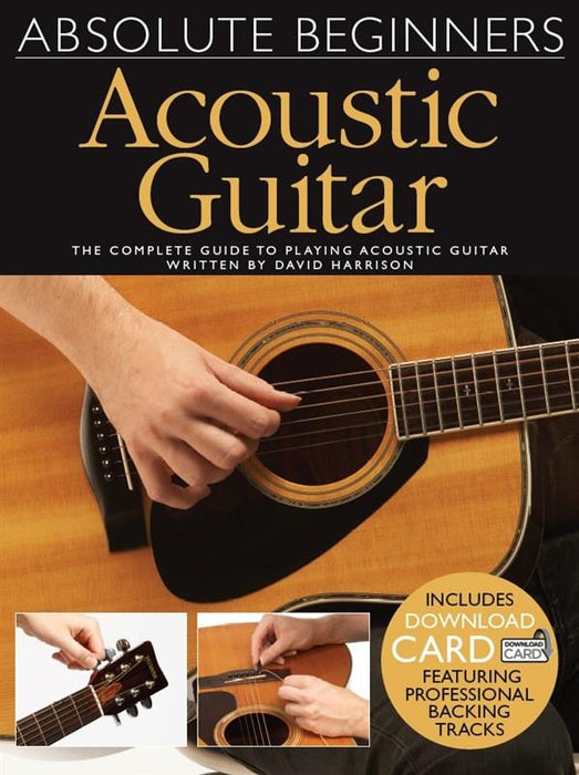 Absolute Beginners: Acoustic Guitar