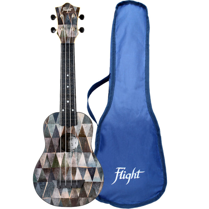 Flight Travel Series TUS40 Arcana Travel Soprano Ukulele