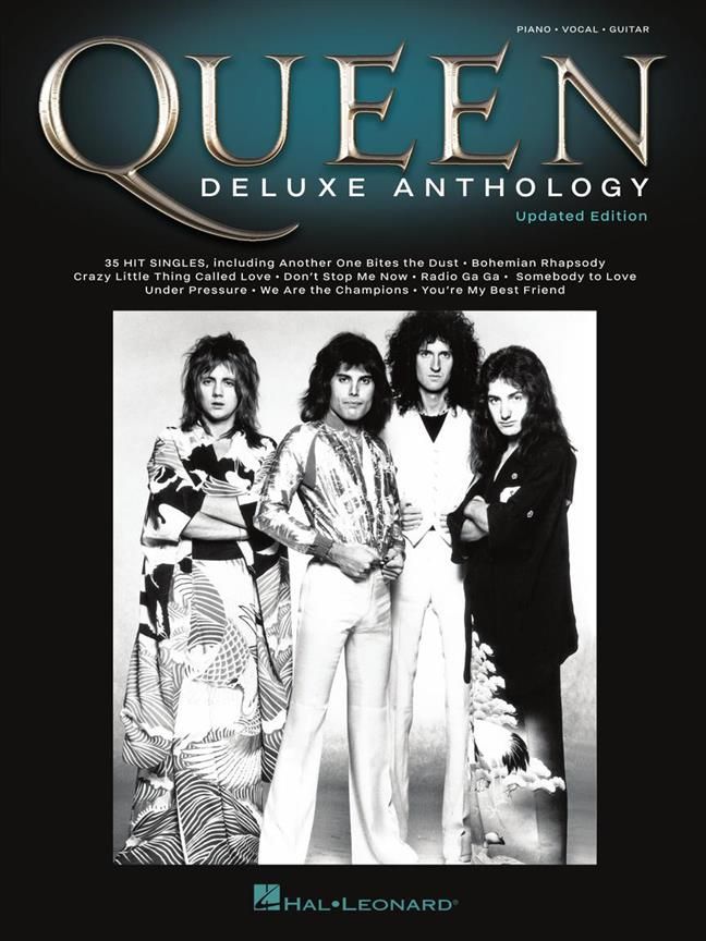 Queen - Deluxe Anthology: Piano, Vocal, Guitar