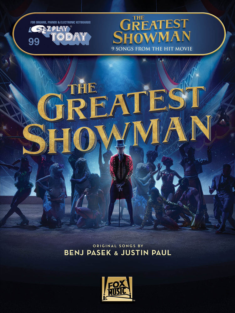 The Greatest Showman: Piano or Keyboard