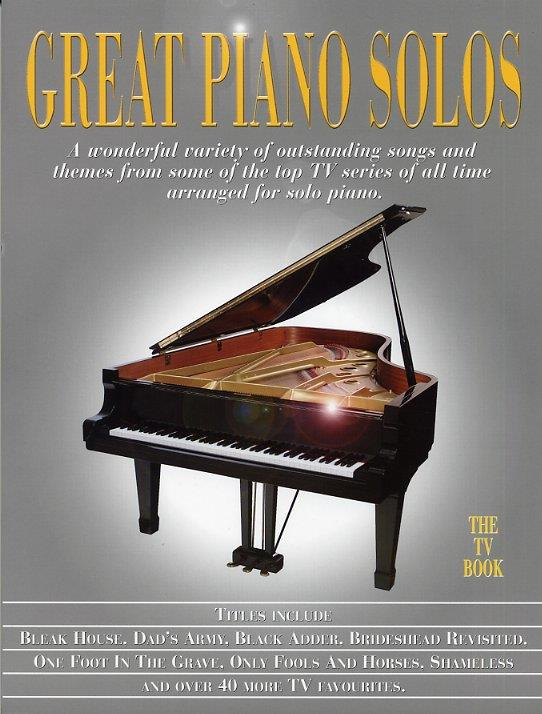 Great Piano Solos - The TV Book: Piano