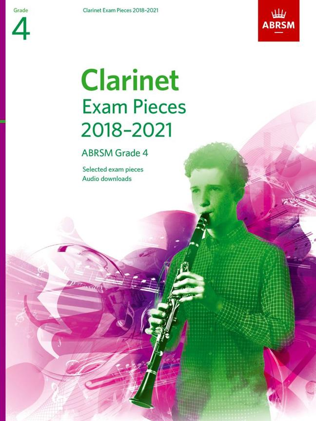 ABRSM: Clarinet Exam Pieces 2018-2021 Grade 4