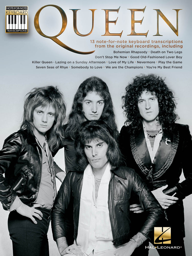 Queen: Note-For-Note Keyboard Transcriptions: Electric Keyboard