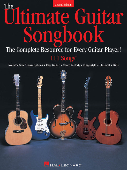 The Ultimate Guitar Songbook: Second Edition