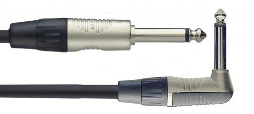 Stagg N Series - Straight to Angled Instrument cable - 20ft