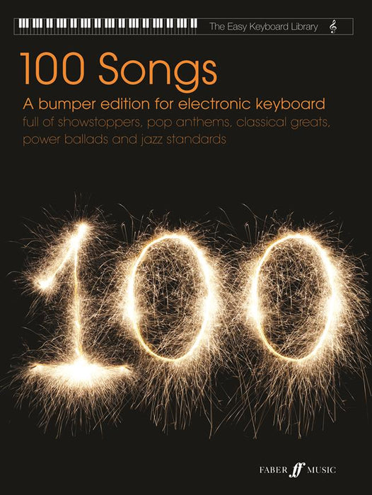 Easy Keyboard Library: 100 Songs