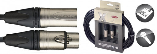Stagg X Series - Male XLR to Female XLR High Performance Microphone Cable - 3ft