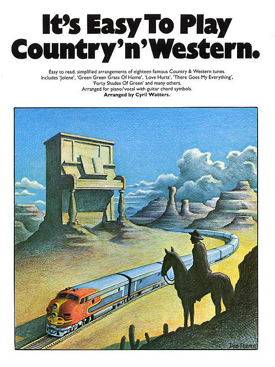 It's Easy To Play Country 'n' Western: Piano, Vocal, Guitar