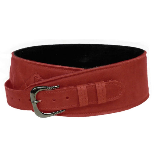 Leathergraft Liverpool - Fab Softy Guitar Strap - Red