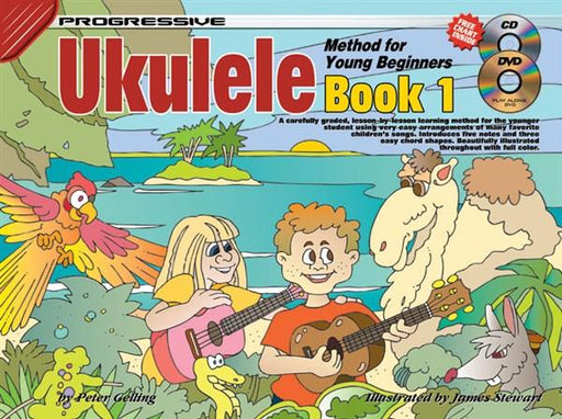Progressive Ukulele Method: Book 1