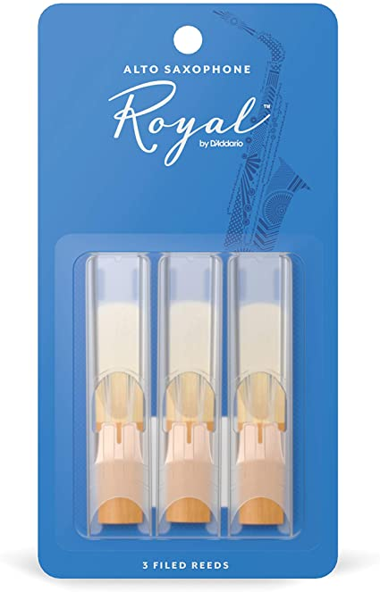Royal by D'Addario Alto Sax Reeds - 2.0 - 3-Pack