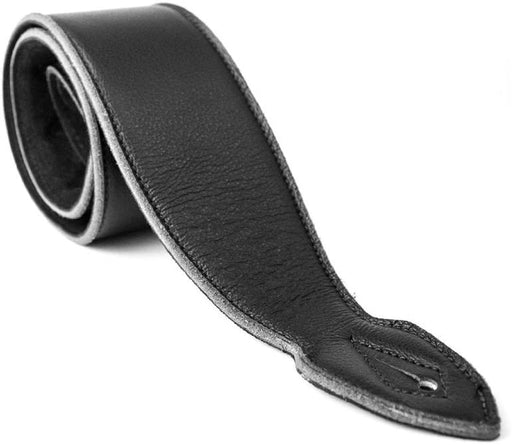 "Leathergraft Liverpool - 4"" Softy Guitar Strap - Black"