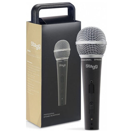 Stagg SDM50 – Professional Dynamic Microphone with XLR Cable