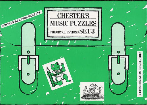 Chester's Music Puzzles - Set 3: Piano