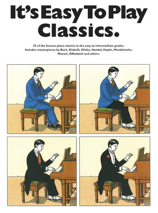 It's Easy To Play Classics: Piano, Vocal, Guitar