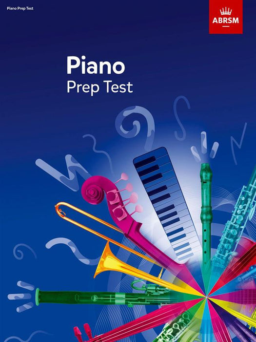 ABRSM Piano Prep Test 2017+ (Current)