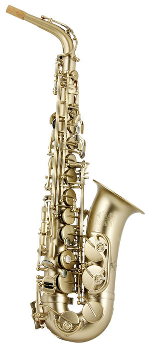 Trevor James 3738KF Horn 88 Alto Saxophone Outfit - Brushed Gold