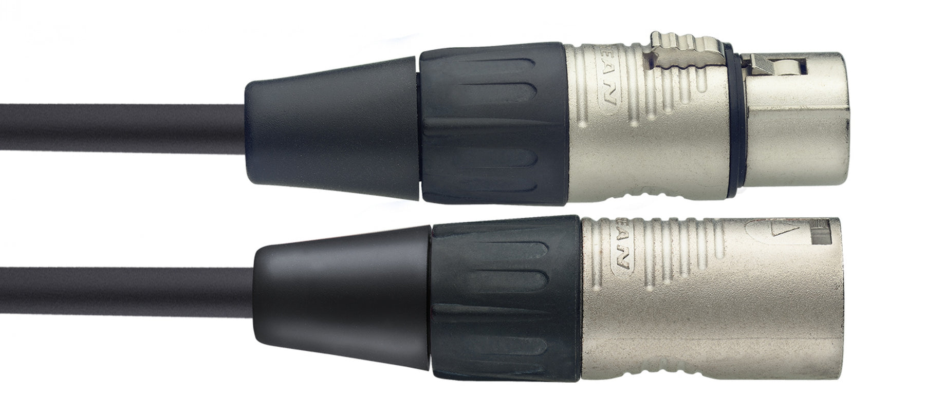 Stagg N Series - Male XLR to Female XLR Microphone Cable - 20ft