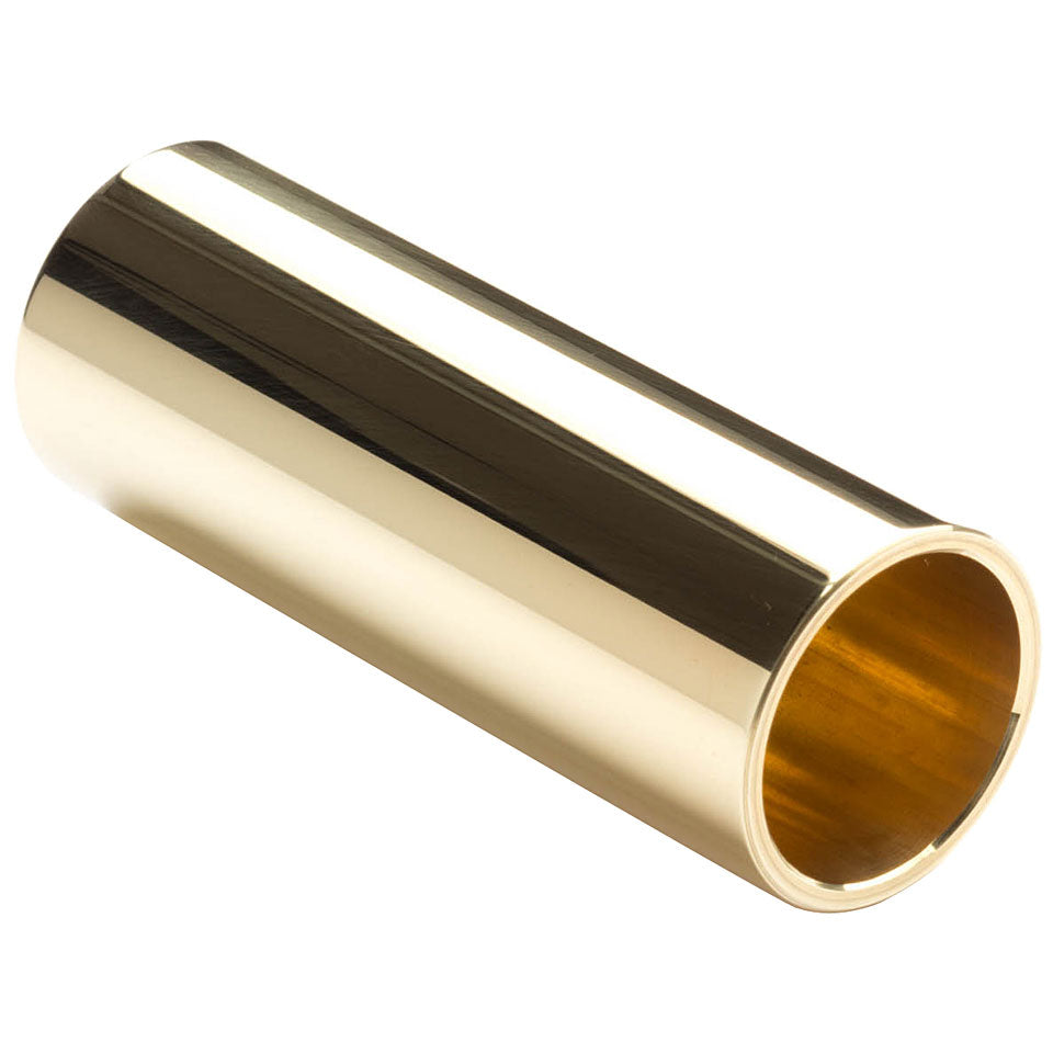 Jim Dunlop 222 Medium Brass Slide - Medium Wall