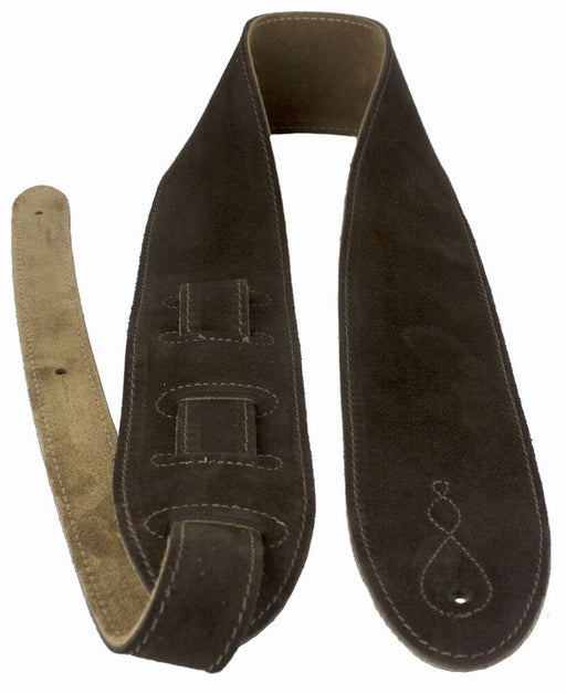 Leathergraft Liverpool - Comfy Guitar Strap - Brown