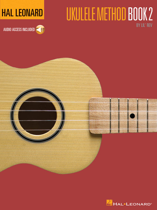 Hal Leonard Ukulele Method Book 2 & Audio