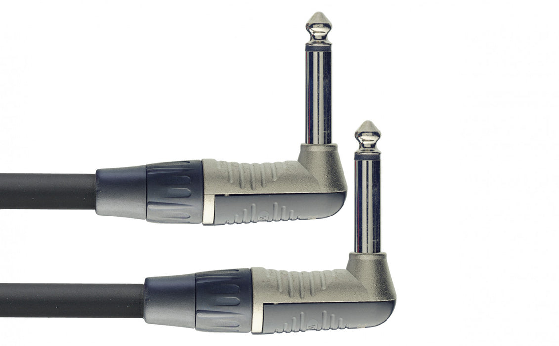 Stagg N Series Patch Cable - Angled to Angled - 4 Inch