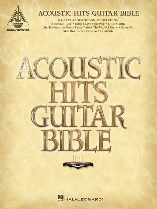 Acoustic Hits Guitar Bible Guitar Recorded Version