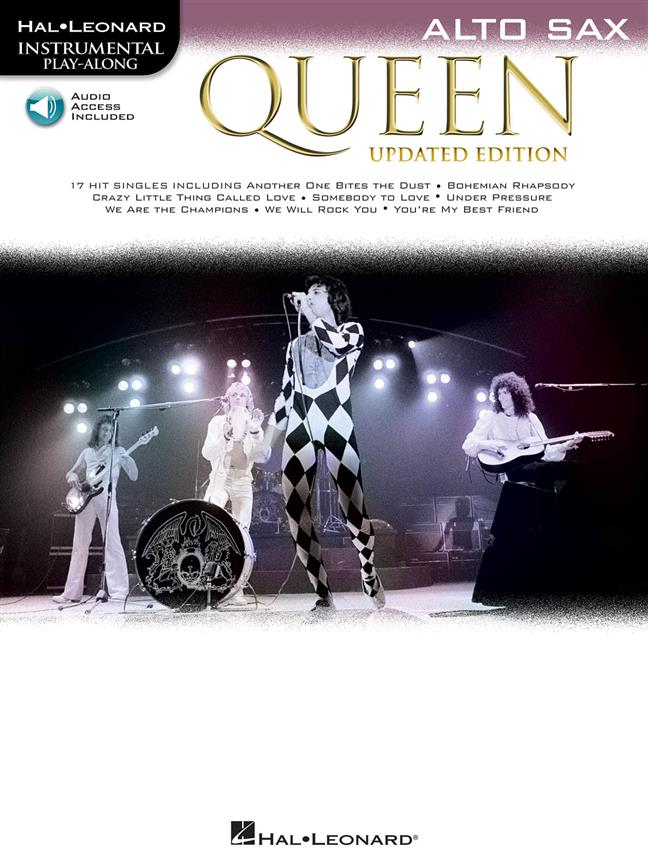 Queen: Queen - Alto Saxophone (Book/Audio)
