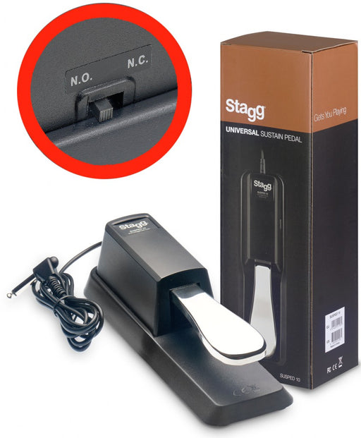 Stagg SUSPED 10 Universal Keyboard Sustain Pedal
