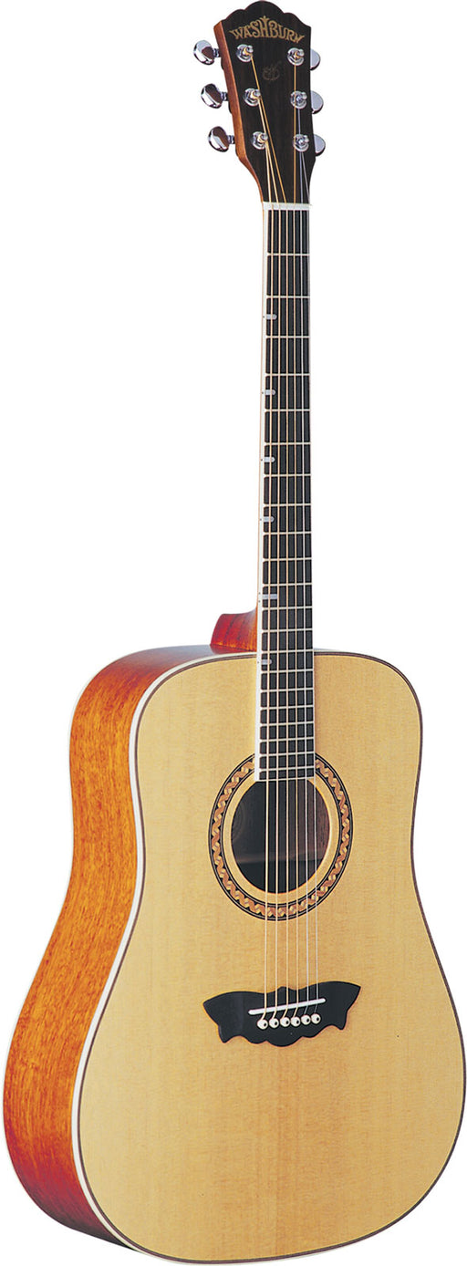 Washburn WD32S Acoustic Dreadnought Guitar - Natural