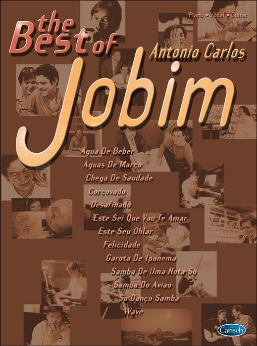 The Best Of Antonio Carlos Jobim: Piano, Vocal, Guitar