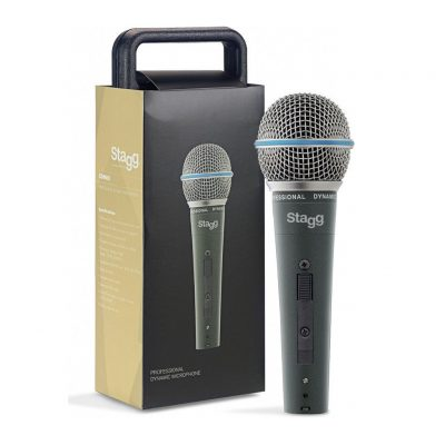 Stagg SDM-60 Metal-Chassis Vocalist Premium Dynamic Microphone